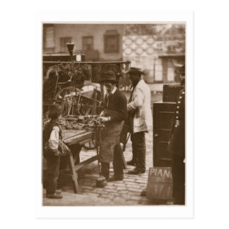 The Street Locksmith, from 'Street Life in London' Postcard