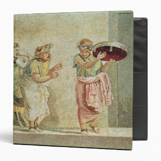 The Street Musicians, c.100 BC 3 Ring Binder