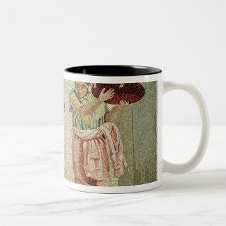 The Street Musicians, c.100 BC Two-Tone Coffee Mug