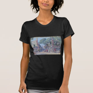 The Street of Blood, Delhi by Marianne North T-Shirt