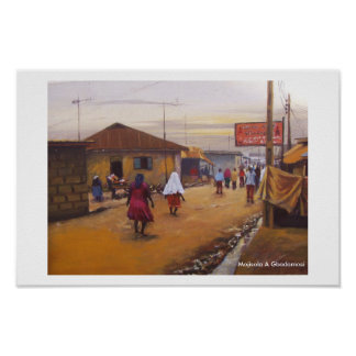 THE STREET OF LAGOS STATE. - Customized Poster