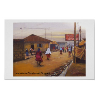THE STREET OF LAGOS STATE. POSTER
