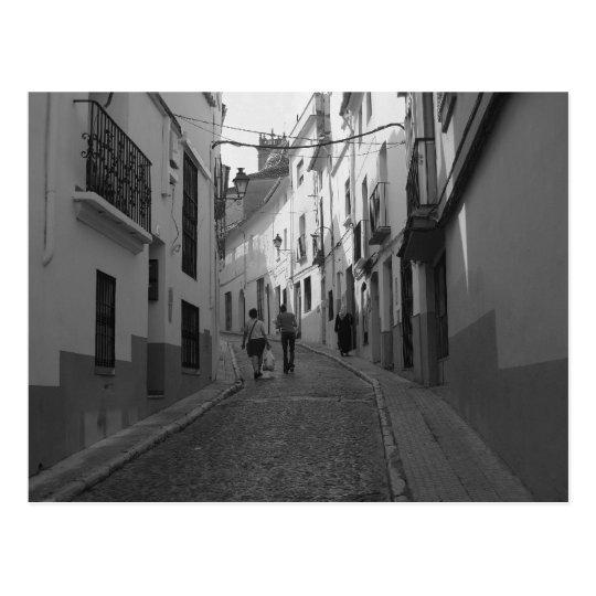 The Street. Postcard
