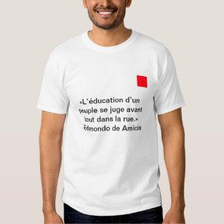 The street tee shirts