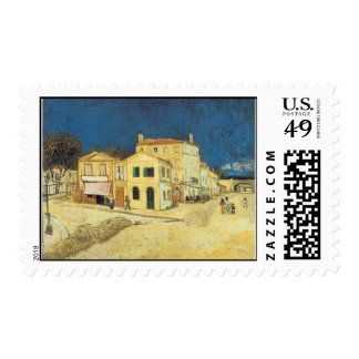 The Street, The Yellow House Binder Stamp