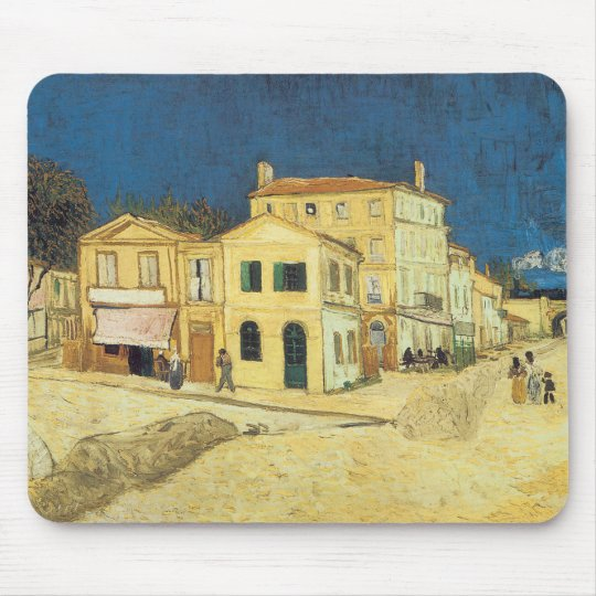 The Street, The Yellow House Mouse Pad