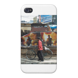 The streets of India.. Cover For iPhone 4