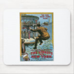 """""""The Streets of New York"""" Mouse Pad"""