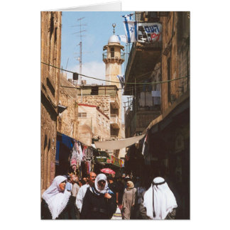 The Streets of the Old City Card