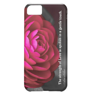 The strength of Love is spoken... Cover For iPhone 5C