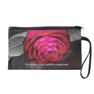 The strength of Love is spoken... Wristlet Purse