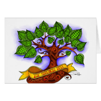 The Strength Tree Card