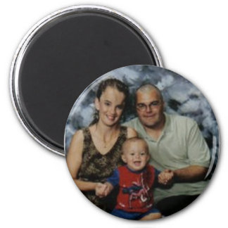 The Strickland-Clabaugh Family 2 Inch Round Magnet