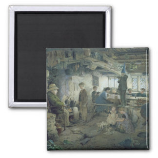 The Strict School Master, 1868 Fridge Magnets