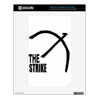 The Strike Products Decals For NOOK Color