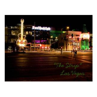 The Strip @ Night Las Vegas Postcard #3