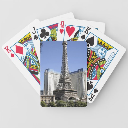The Strip, Paris Las Vegas, Luxury Hotel Bicycle Playing Cards