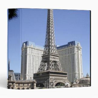 The Strip, Paris Las Vegas, Luxury Hotel 3 Ring Binder