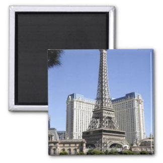 The Strip, Paris Las Vegas, Luxury Hotel Fridge Magnets