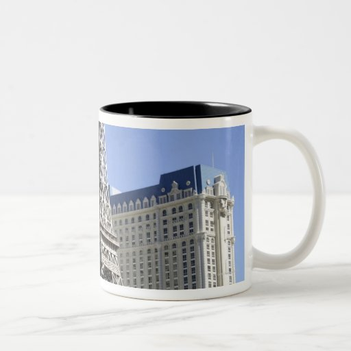 The Strip, Paris Las Vegas, Luxury Hotel Two-Tone Coffee Mug