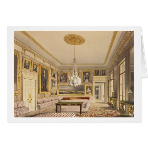 The Striped Drawing Room, Apsley House, 1853 (prin Greeting Cards