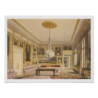 The Striped Drawing Room, Apsley House, 1853 (prin Poster