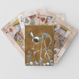 The Stroll Brown BG Bicycle Playing Cards