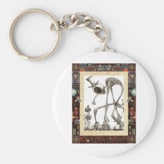The stroll framed keychain
