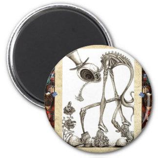 The stroll framed magnet