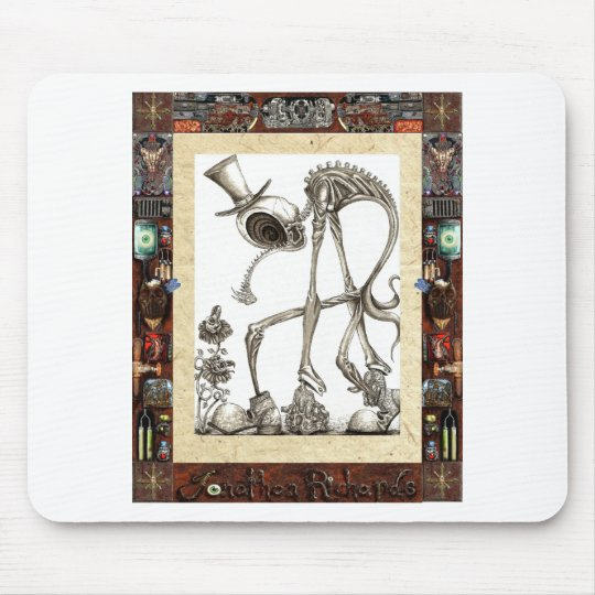 The stroll framed mouse pad