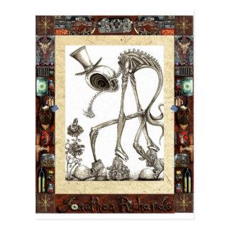 The stroll framed post cards