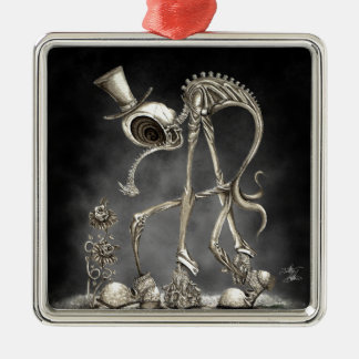 The Stroll light BG Metal Ornament