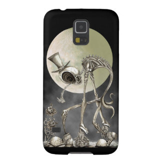 The stroll w/moon galaxy s5 cover