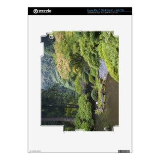 The Strolling Pond with Moon Bridge iPad 3 Skins