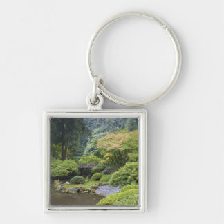 The Strolling Pond with Moon Bridge Keychain