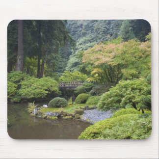 The Strolling Pond with Moon Bridge Mouse Pad