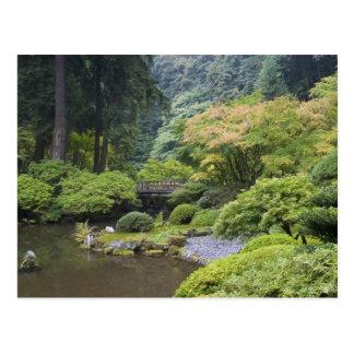 The Strolling Pond with Moon Bridge Postcard