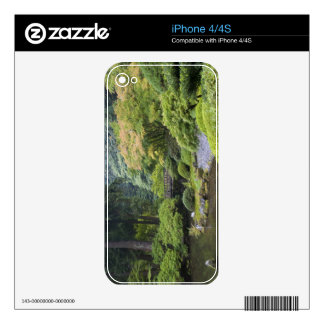 The Strolling Pond with Moon Bridge Skins For iPhone 4