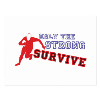 The Strong Survive Postcard
