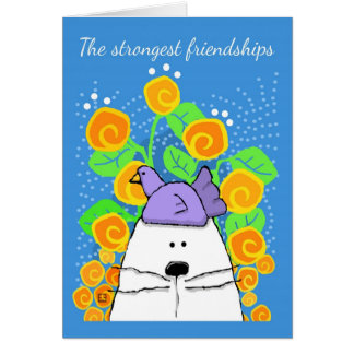 The Strongest Friendships, Cat and Bird Cards