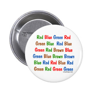 The Stroop Test Pin