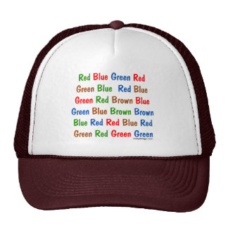 The Stroop Test Hat