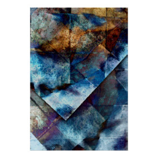 The Structure of Blue Fine Art Print