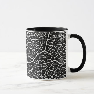 The Structure of Leaf Veins Mug