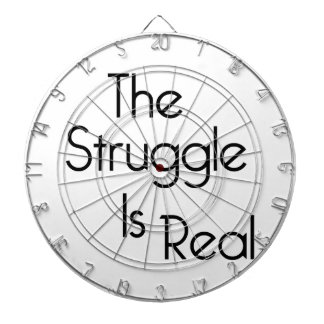 The Struggle Is Real Dartboard