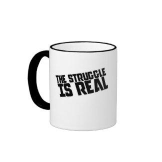 The struggle is REAL Mug