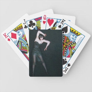 The Struggle To Be Free - Self Portrait Bicycle Poker Cards