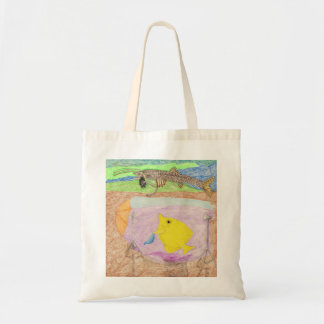 The Stuck Up Model Tote Bag