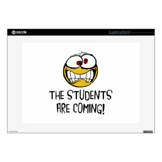 "The Students Are Coming 15"" Laptop Skin"