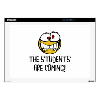 The Students Are Coming Laptop Decal